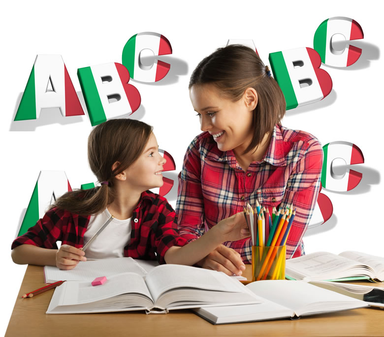 mommy and me speak italian