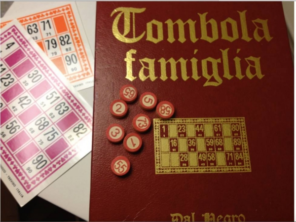Dec. 16th: Christmas party and a fun Italian game called Tombola