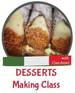 Italian Desserts Making Class