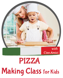 Pizza Making Class for Kids